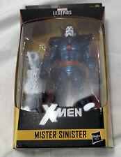 """Marvel Legends Series 6"""" Mister Sinister Action Figure Wendigo BAF Wave"""