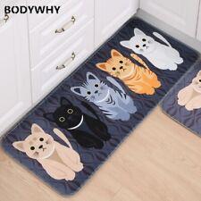 2020 Home Floor Mat Animal Cat Printed Bathroom Kitchen Carpet Door Mat Non-slip