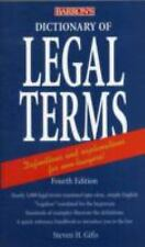 Dictionary of Legal Terms-ExLibrary