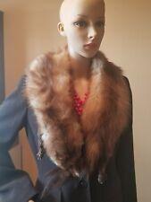 Vintage 2 Geniune Fox collar, boa, scarf, shaw very full 2 whole fox #20