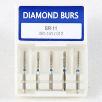 200 pcs Dental Diamond burs Diamantbohrer high speed handpiece air turbine