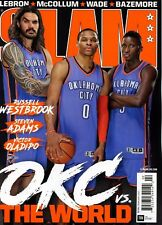Slam Magazine #204 2/2017  basketball Russell Westbrook OKLAHOMA CITY THUNDER