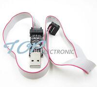 New USBASP USBISP AVR Programmer USB ATMEGA8 ATMEGA128