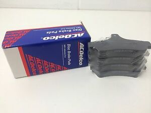 Brake Pads AC Delco  Holden  Commodore. VT VX VY VZ Rear set ACD1332
