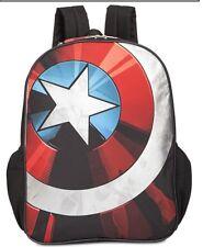 Marvel Captain America School Backpack BNWT