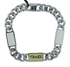Dolce & Gabbana Jewels DJ0443 Women's Stainless Steel Cream & Off White Bracelet