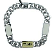 Dolce & Gabbana Jewels DJ0443 Women's Stainless Steel Cream & Off White Bracelet