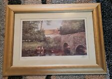 2 Clive Madgwick Limited Edition Spring Landscapes-signed