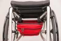 wheelchair under seat bag underneath pouch removable disability accessory