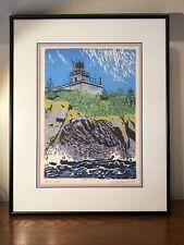 Vintage Alaska Beacon Artist Proof Michelle Morrell Exceptional Design Color!!!