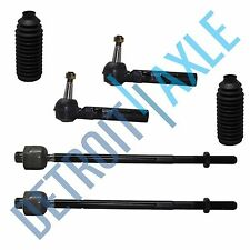 New 6pc Front Inner and Outer Tie Rod End Set - Buick Chevy Pontiac Saturn Relay