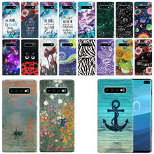 "For Samsung Galaxy S10+ / S10 Plus G975 6.4"" HARD Back Case Phone Cover"