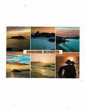 CORNISH POST CARD COLOUR PHOTO`S CORNISH SUNSETS No. 2DC 2074