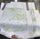 Vintage 1978 USGS Topographic 11 Map LOT NE PA - Williamsport Bloomsburg Etc.