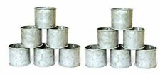 New listing Galvanized Design Rustic Style Metal Napkin Ring for Dinning Table Party Decor
