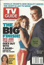 TV Guide magazine Sex and the City Katherine Hepburn Donald Trump The Apprentice