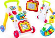 Walker First Steps Sounds & Lights Push Along Baby Walker KP1047