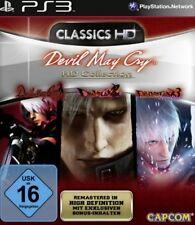 Playstation 3 Devil May Cry 1 + 2 + 3 HD Collection Edition Deutsch Neuwertig