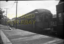 May 47 BAM Bamberger Trolley #400 Utah ORIGINAL Photo Negative-Railroad