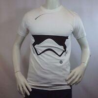 "Men's T-shirt STAR WARS Tee STORM TROOPER ""Rise of Skywalker"" White Small"