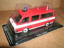 1/43 Scale RAF-2203 Latvija Russian Fire Rescue Feuerwehr Van - Deagostini Model