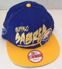 Buffalo Sabres Size S/M Yellow and Navy Hat New ERA 9fifty Snapback