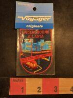 Vtg Voyager ATLANTA UNDERGROUND Five Points Shopping Entertainment GA Patch 00Y4