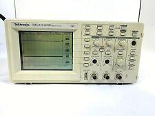 Tektronix Tds 210 2 Channel Digital Real Time Oscilloscope 60mhz 1gss