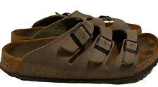 Birkis by Birkenstock US 11-11.5 EU 42 Men Sandals Slip-On Shoes Three Buckles
