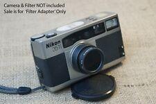 Nikon 35Ti 28Ti camera filter adapter } UV Red Yello IR Polarizing ND 2 4 8 ect
