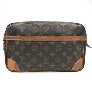 100% Authentic Louis Vuitton Monogram Compiegne 28 M51845 [Used] {09-0397}