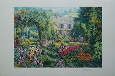RAGARU Alain : Maison de Monet à Giverny - LITHOGRAPHIE originale signée #295ex