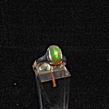 Ring, Gr.55,  Silber 925 mit einem Opal Cabochon aus Äthiopien