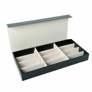 Sunglasses Storage Box 12 Grid Organizer Glasses Display Cases And Stand Holder