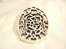 BNAP81 : Chinese Acrylic Medallion (B) Pendant