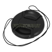 58mm Center Pinch Snap on Lens / Filter Front Cap for DSLR SLR Canon Rebel 18-55