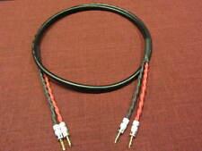 2//2 Pair Banana 15 ft Belden 5000UE 12 AWG Speaker Cable