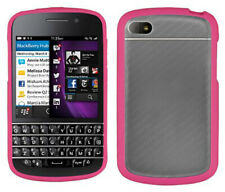 PINK CLEAR FROST AQUAFLEX TPU CANDY SKIN CASE COVER FOR BLACKBERRY Q10