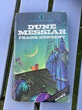 Dune Messiah - Frank Herbert First Edition 1972 New English Library Paperback