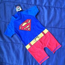 Kids Sunsafe Sunsuit Wetsuit Or Swimming Costume Swimsuit Girls Boys Bodysuit