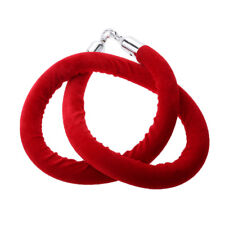 Velvet Rope Crowd Control for Posts Stands 1.5m Red Barrier Rope