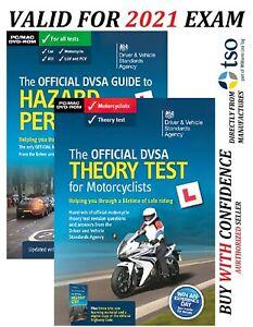 2021 DVSA Motorbike/Motorcycle Theory Test DVD-ROM and Hazard Perception MTdv+Hz