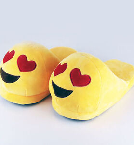 Children's Emoji Novelty Slippers