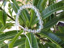 Tibetan mala Rainbow Crystal Quartz wrist mala/ bracelet for meditation
