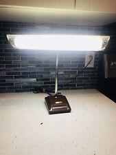 Vintage Nova Brown Mid Century Flourecent Desk Lamp