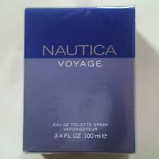 Nautica Voyage 3.4 oz/ 100 ml Men  Eau de Toilette Spray New In Box , Sealed