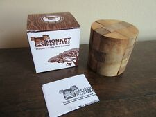 Monkey Pod Games. Wood, Round Diamond puzzle