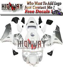 Kit For Honda CBR600RR F5 03 04 ABS Fairing Bodywork Fairings White Grey Carene