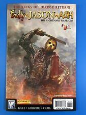 Freddy vs. Jason vs. Ash: Nightmare Warriors #1 - Jason Cover - High Grade!!!
