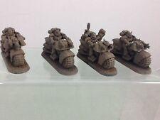 Warhammer 40k Space Marines Biker Squad (C) 40,000 Games Workshop